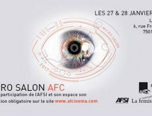 Premier Micro Salon comme membre associé de l'AFC.