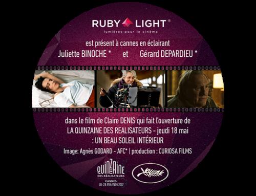 RUBY LIGHT au 70ème festival de CANNES – UN BEAU SOLEIL INTÉRIEUR